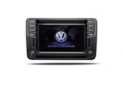 Genuine VW OEM Retrofit Kit - Discover Media Navigation - with DAB Radio