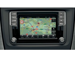 Genuine Skoda OEM Retrofit Kit - Amundsen Media Navigation - with DAB Radio